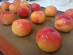 peaches must be summer