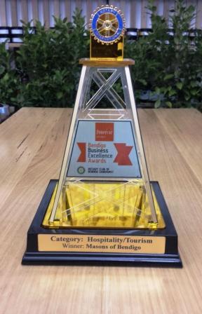 2013 Bendigo Business Excellence Award