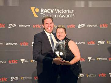 Gold Winners 2016 RACV Victorian Tourism Awards